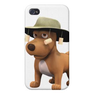 perro del australiano 3d iPhone 4/4S carcasa