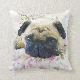 Perro del barro amasado almohadas