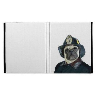 Perro del barro amasado del bombero