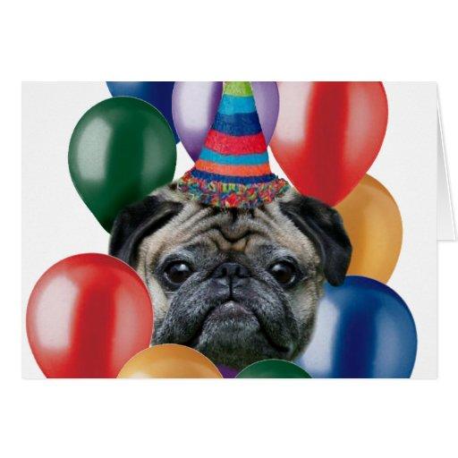Perro del barro amasado del feliz cumpleaños tarjetas | Zazzle