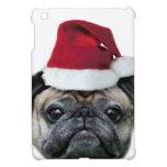 Perro del barro amasado del navidad iPad mini cárcasas