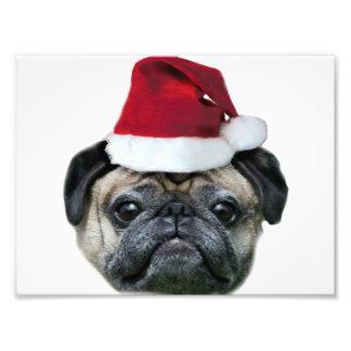 Perro del barro amasado del navidad arte fotografico