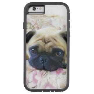 Perro del barro amasado funda tough xtreme iPhone 6