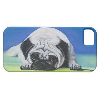 Perro del barro amasado iPhone 5 carcasa