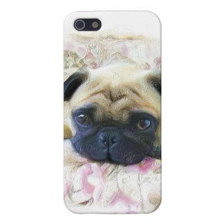 Perro del barro amasado iPhone 5 fundas