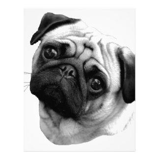Perro del barro amasado membretes personalizados