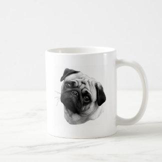 Perro del barro amasado taza clásica