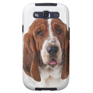 """Perro del Bassett "" Galaxy SIII Protectores"