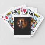 Perro del boxeador baraja de cartas