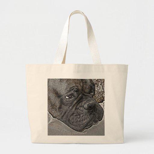 Perro del boxeador bolsas