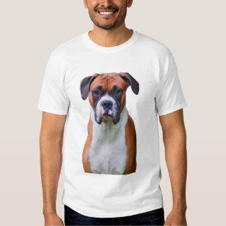 Perro del boxeador camisas