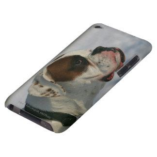Perro del boxeador en la nieve iPod touch Case-Mate cobertura