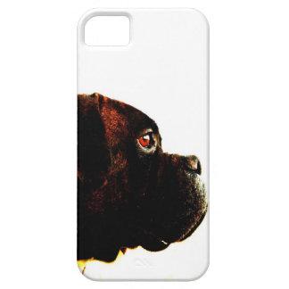 Perro del boxeador funda para iPhone 5 barely there
