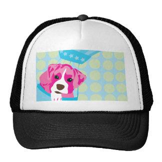 perro del boxeador gorras de camionero