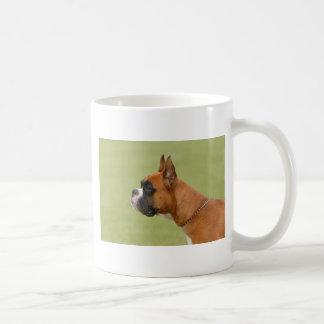 Perro del boxeador taza