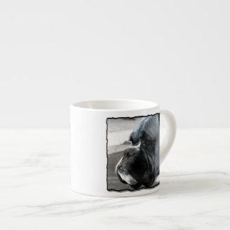 Perro del boxeador taza espresso