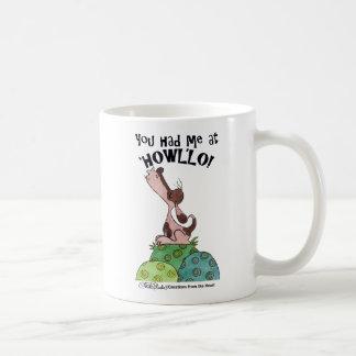 Perro del chillón taza