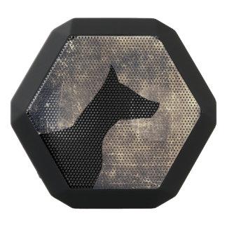 Perro del claro de luna altavoces bluetooth negros boombot REX
