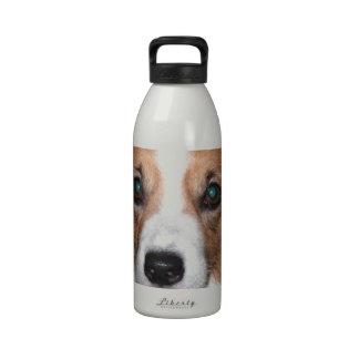 Perro del Corgi Botella De Agua Reutilizable