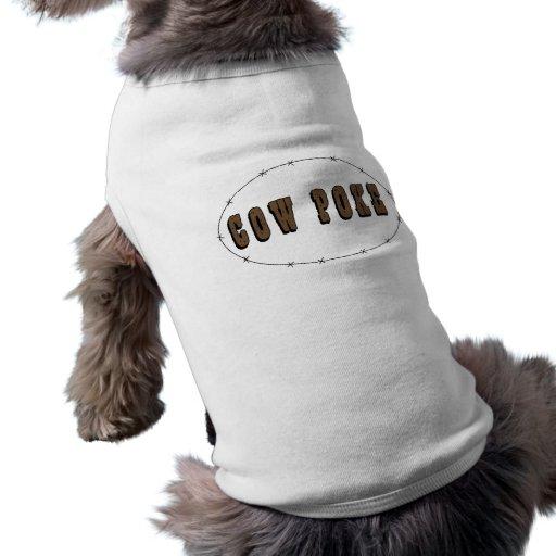 Perro del Cowpoke - occidental Playera Sin Mangas Para Perro