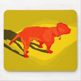 Perro del desierto tapete de raton