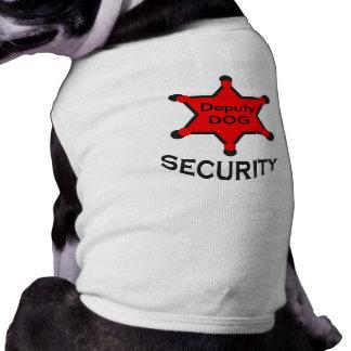 perro del diputado camisetas de perrito
