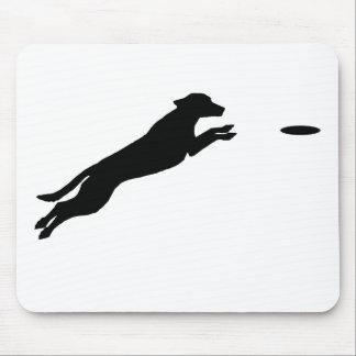 Perro del disco tapetes de raton