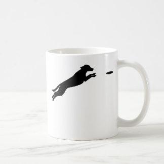 Perro del disco taza de café