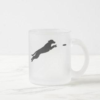Perro del disco taza