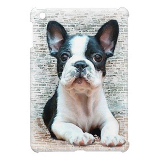 Perro del dogo francés iPad mini fundas