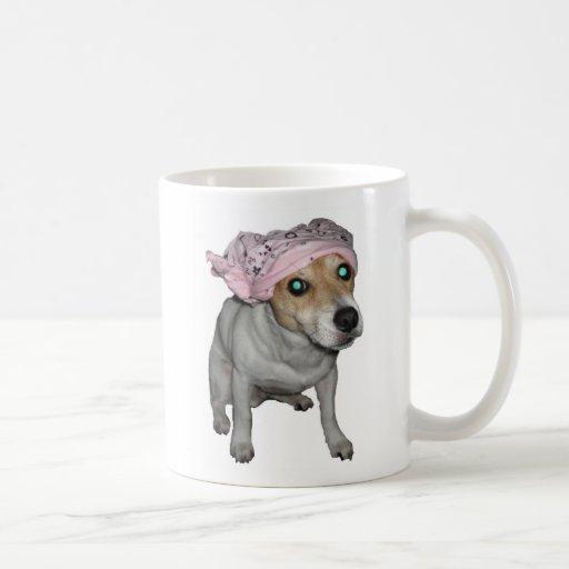Perro del Doo-Trapo Tazas De Café