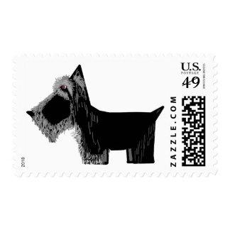 Perro del escocés franqueo