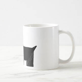 Perro del escocés tazas de café