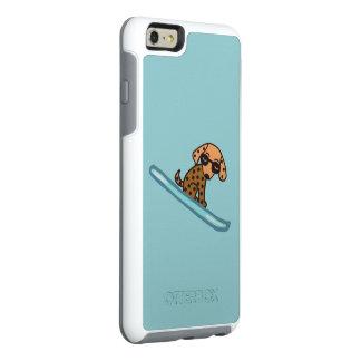 Perro del esquí funda otterbox para iPhone 6/6s plus
