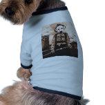 perro del fuego camisa de mascota
