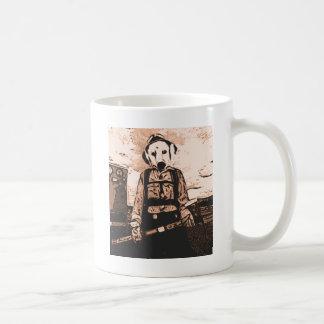 perro del fuego taza clásica