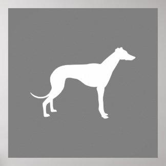 Perro del galgo póster