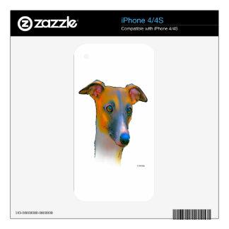 Perro del galgo skins para iPhone 4S