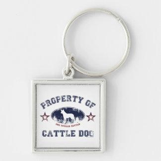 Perro del ganado llaveros personalizados