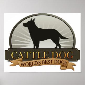Perro del ganado poster