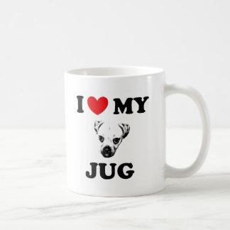 perro del jarro taza