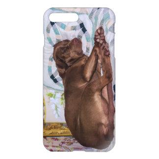 Perro del labrador retriever, durmiendo funda para iPhone 7 plus