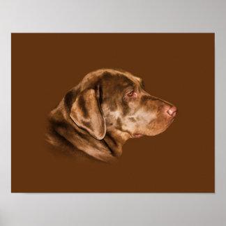 Perro del labrador retriever, personalizable impresiones