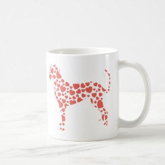 Perro del leopardo de Catahoula Taza Clásica
