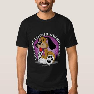 Perro del lupus camisas