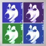 Perro del Malamute Poster