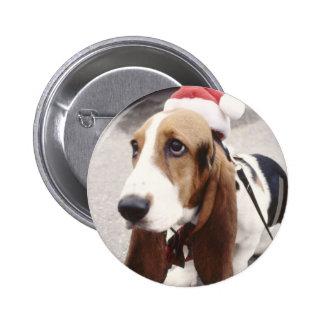 Perro del navidad pin