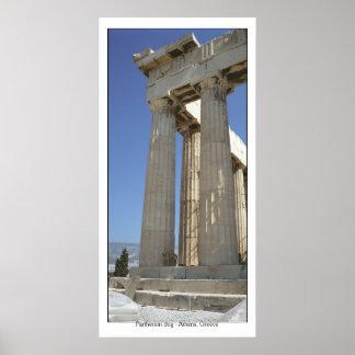 Perro del Parthenon Póster