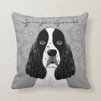 Perro del perro de aguas de saltador inglés del cojin