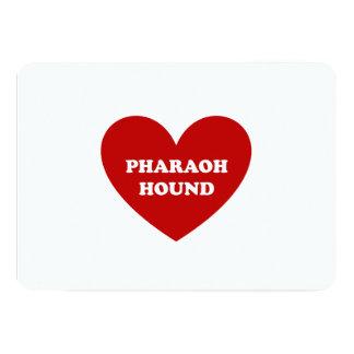 """Perro del Pharaoh Invitación 5"""" X 7"""""""